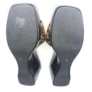 Via Spiga Shoes - Via Spiga Gioia Camel Congo Platform Shoes SH0576